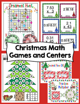 5th Grade Christmas - 5th Grade Math and ELA Christmas Activities