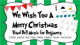 We Wish You A Merry Christmas Hand Bell Music for Beginners