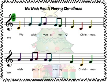 We Wish You A Merry Christmas for Boomwhackers & Handbells