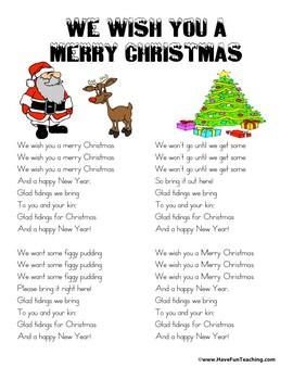 We Wish You A Merry Little Christmas Lyrics