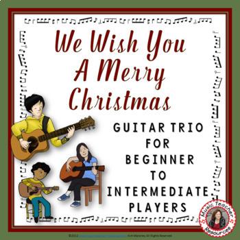 Christmas Music: We Wish You a Merry Christmas Guitar Trio