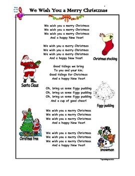 We Wish You a Merry Christmas - Song