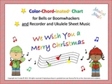 We Wish You a Merry Christmas - for Bells and/or Boomwhackers, Recorder, Uke