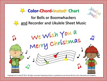 We Wish You A Merry Christmas Ukulele Chords.We Wish You A Merry Christmas For Bells And Or Boomwhackers Recorder Uke