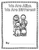 We are Alike, We are Different Journal