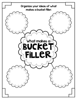 We are Bucket Fillers! {Interactive Activities to start the school year!}