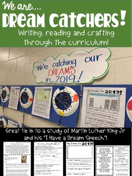 We are Dream Catchers: Martin Luther King Poem, Writing Ideas and Craft