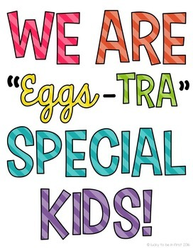 We are Eggs-tra Special Kids Spring Craft