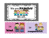We are Family! Kindergarten Class Rules