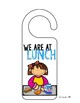 We are Here! Door Hangers for the Classroom