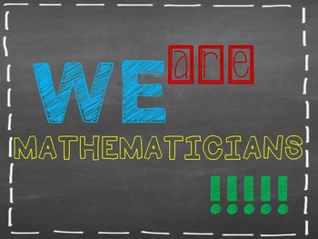We are Mathematicians Subway Posters