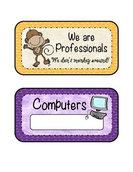 We are Professionals Job Cards