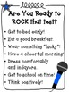 We are Rockin' the Test! ~ Free Pack of Test Day Prep Materials