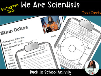 Back to School Science Instagram: We are Scientists