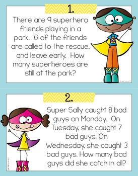 Addition and Subtraction Word Problems within 20