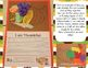 We are Thankful Cornucopia Craft and Emergent Reader