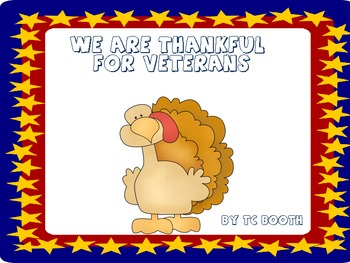 We are Thankful for Veterans