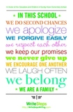We are a Family Inspirational Classroom Poster