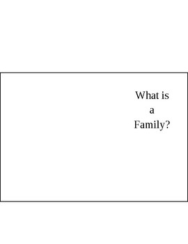 We are a Family_Getting to Know You Lesson Plan