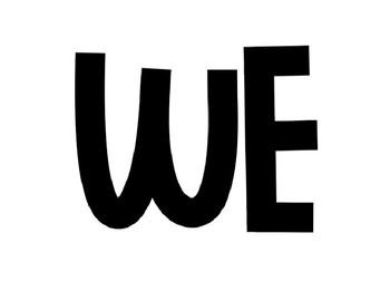 We are a SWEET Bunch Bulletin Board Set *EDITABLE*