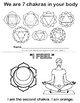 We are 7 chakras in your body. English