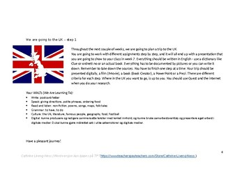 We are going to the UK - redigerbar