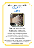 We are learning to... play based learning printables (Bili