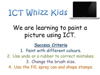We are learning to paint a picture using ICT Mehndi Diwali