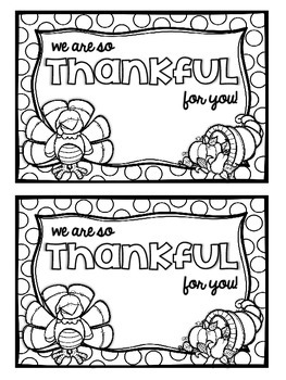 """We are so thankful for you!"" - Spreading Schoolwide Thankfulness"