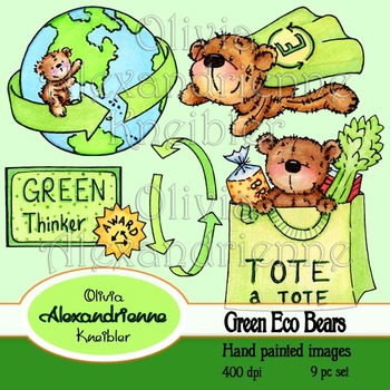Green Eco Bears