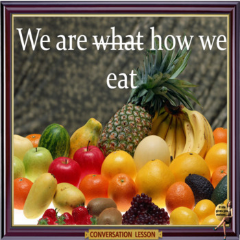 We are what we eat?