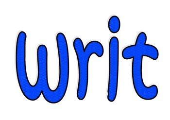 We are writers display header
