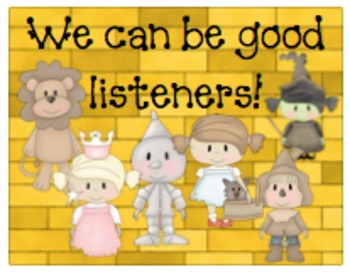We can be good listeners!