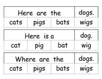 We can see... simple decodable books