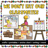 We Don't Eat Our Classmates Craft   Seesaw Activities   Di