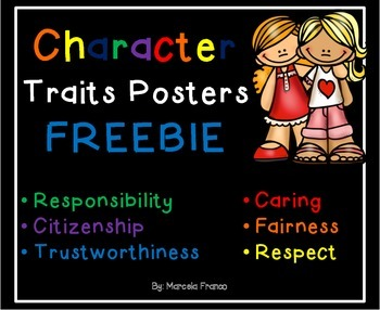 We have Character! Character Traits Posters