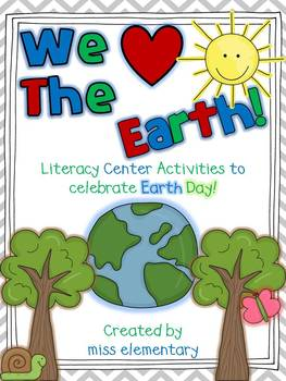 We heart the Earth! - Earth Day Literacy Activities