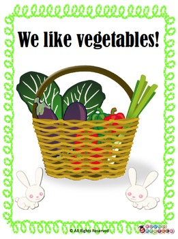 We like vegetables learning pack!