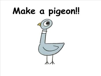 We love Pigeon- smartboard activtiy