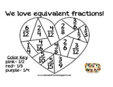 We love equivalent fractions!
