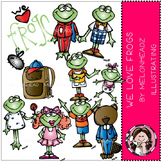 We love frogs clip art - by Melonheadz