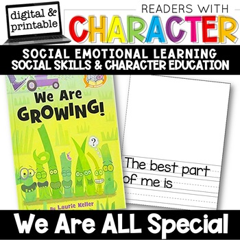 We're All Special - Character Education | Social Emotional Learning SEL