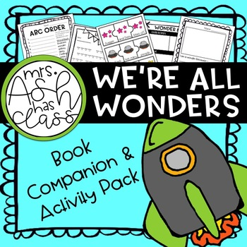 We're All Wonders Book Companion and Activities