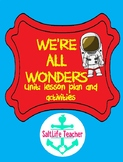 We're All Wonders Book Study and Activities