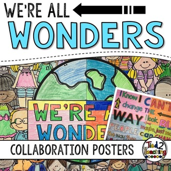 We're All Wonders Collaborative Posters