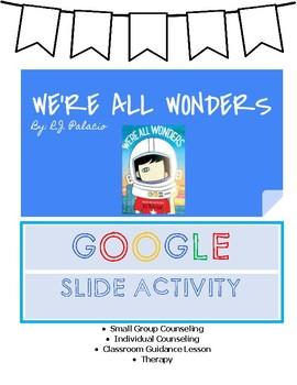 We're All Wonders Google Slide Activity