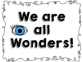 We're All Wonders Mini Poster