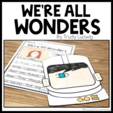 We're All Wonders | Mini Read Aloud Unit | Book Response
