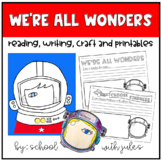 We're All Wonders Book Companion Activity and Printables