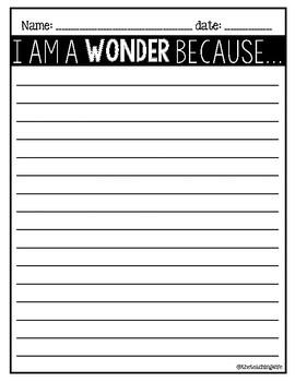 We're All Wonders / Read-Aloud